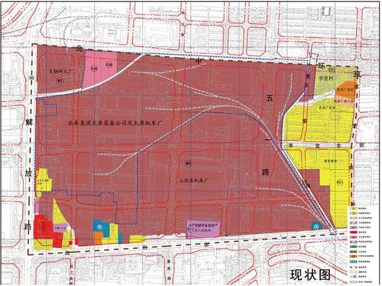 房产网独家探秘太原机车厂片区五一路规划图片