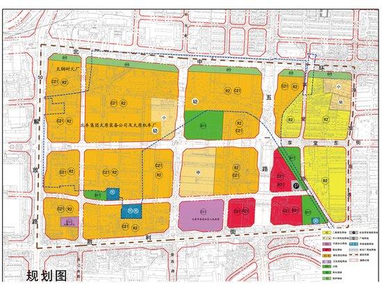探秘太原机车厂片区五一路规划图片