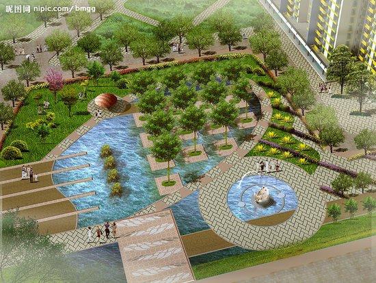 太原彭村住宅小区绿化效果图-传说是太原彭村小区的整体改造方案