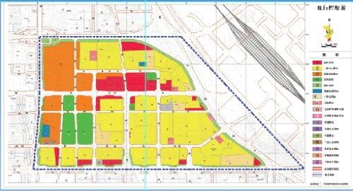 为配合南站建设 XD 04片区规划调整方案征集公示