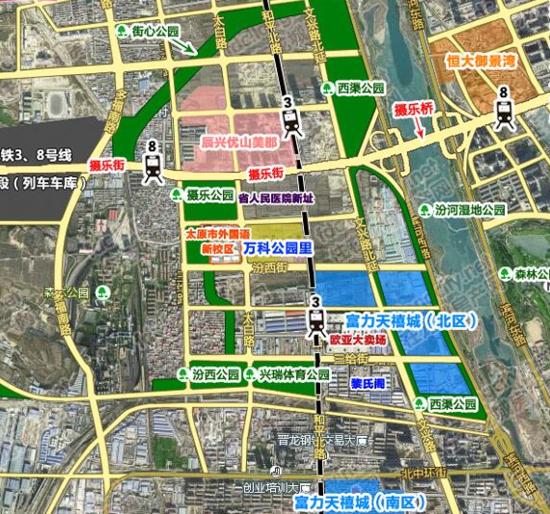 尖草坪区中心医院新址规划曝光 周边医疗配套升级
