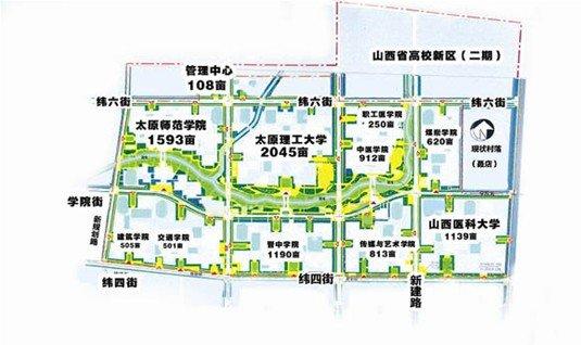 辽宁大学新校区规划图