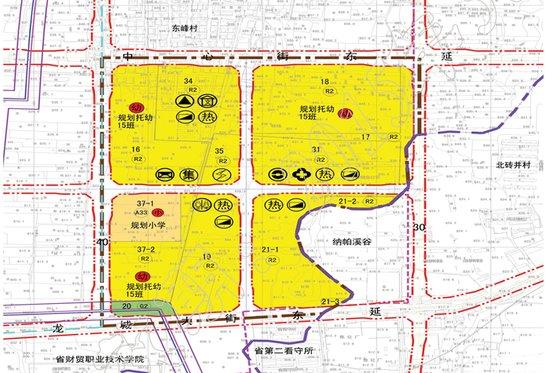 东峰村规划出炉 龙城大街东延路配套齐全