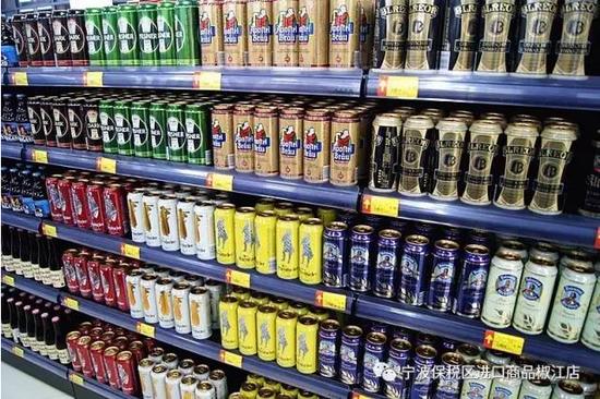 宁波保税区进口商品直销中心今日盛大开业高清图片