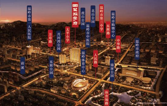 温岭老城原新车站地块成功出让