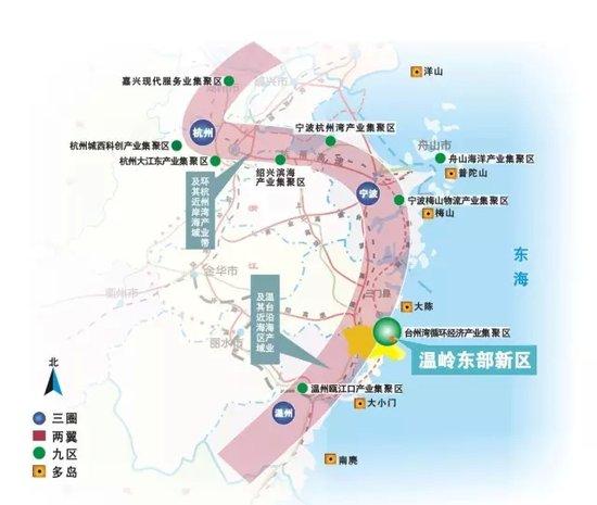 垫江东部新区规划图
