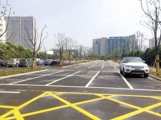台州中心医院停车场下月启用