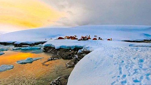 横越南极大陆