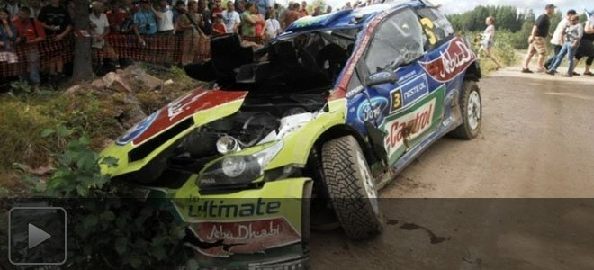 WRC赛车真实撞击瞬间TOP10 不止是速度与激情还需勇气