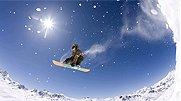 飞天战士空中1080度旋转 U型台滑雪炫技
