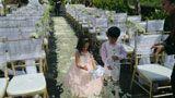独家:杨幂刘恺威婚礼即将开始 花童练习撒花瓣