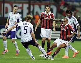 C组:AC米兰VS安德莱赫特