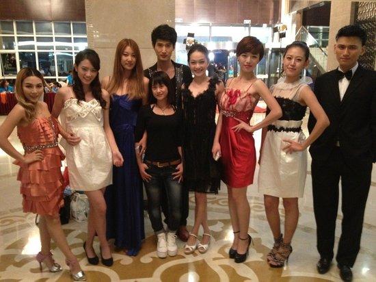 中国超级美女艺人基地拍摄现场直击