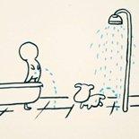 洗澡时为什么想尿尿