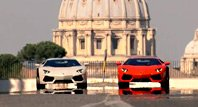 浪漫一日行 Aventador的罗马假期