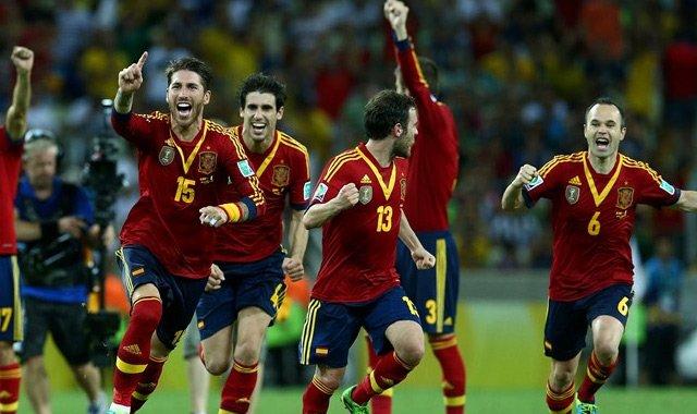 西班牙点球大战7-6淘汰意大利 决赛将战巴西