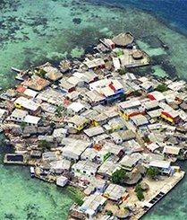世界上最拥挤的绝美小岛