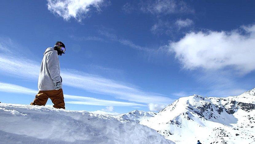 中国顶级单板滑雪小将何伟