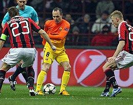 AC米兰 VS 巴塞罗那