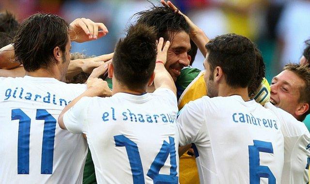 布冯3扑点球意大利胜乌拉圭 夺联合会杯第三名