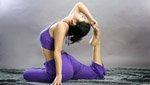 拉伸放松的瑜伽动作