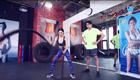 战绳训练暴虐肌肉
