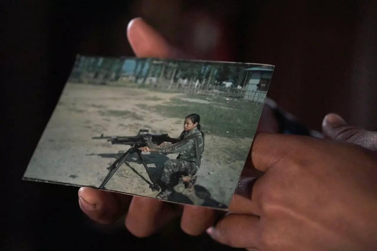 《米拉》剧照,14岁的童子军米拉。