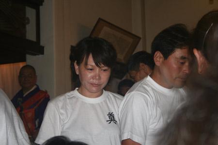 现场图片:中国劳工殉难者慰灵仪式