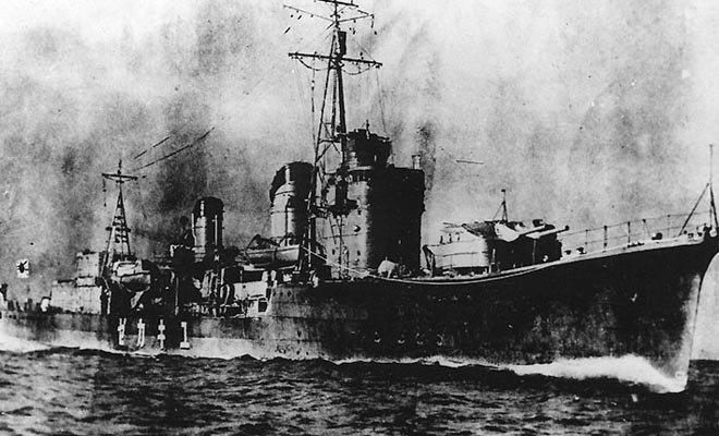 日本建造的雪风号驱逐舰