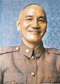 蒋介石去世时穿着26年前离别大陆的装束