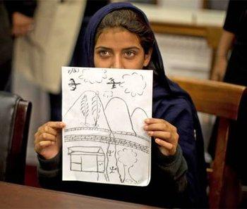 巴基斯坦9岁女孩在美国国会讲述被空袭的创伤