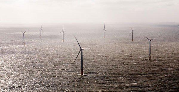 德国的新型风力涡轮机,可再生能源正在该国飞速发展,令价格下降。(图片来自纽约时报)