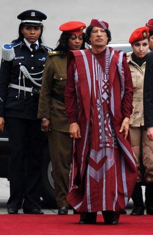 女保镖揭秘卡扎菲生活习惯和爱好