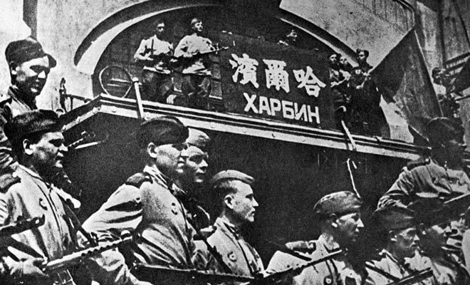苏军攻占哈尔滨