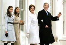 美国前总统布什是典型的好男人形象