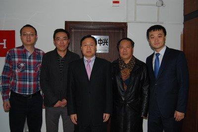 驻马其顿大使崔志伟赴中兴马其顿公司考察