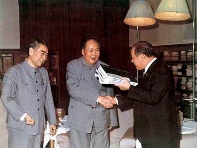 1972年田中角荣访华归来曾被逼剖腹谢罪