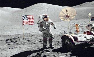 所谓美国登月是骗局的阴谋论说法是完全站不住脚的。