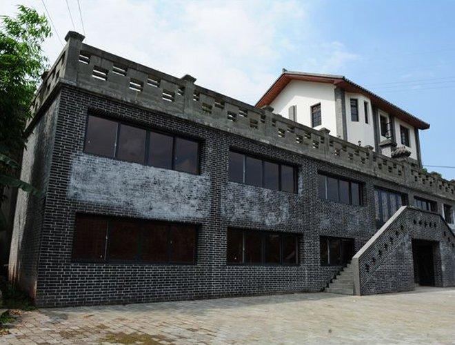 龙章造纸厂办公楼旧址,位于今重庆市江北区