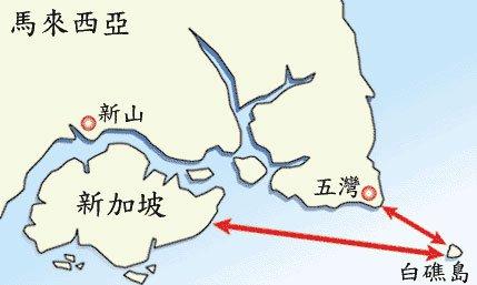 黑瞎子岛边界示意图