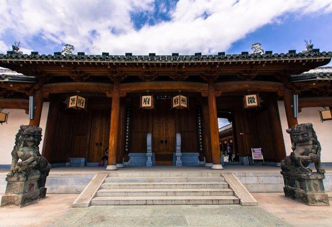 图:徽州府衙的复建,总体上比较真实