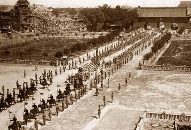 1916年,袁世凯的葬礼