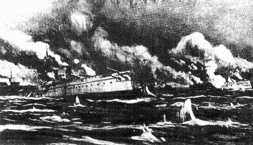 """黄海海战:""""世界第八""""海军成绝响"""