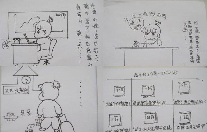 据说只有油田子女才能看懂的漫画《大庆招工》