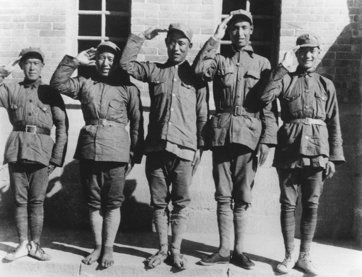 红军在其下发的中央文件中图片