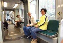 中国游客体验波士顿地铁