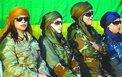 卡扎菲美女保镖须是处女