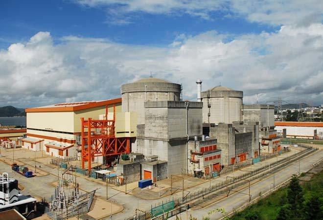 大亚湾核电站全景