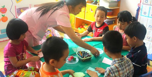 越南幼儿园男孩已经明显多于女孩