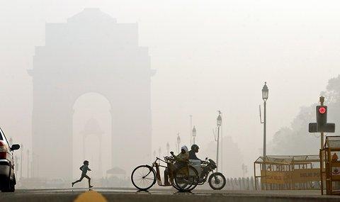 新德里的雾霾也是常态